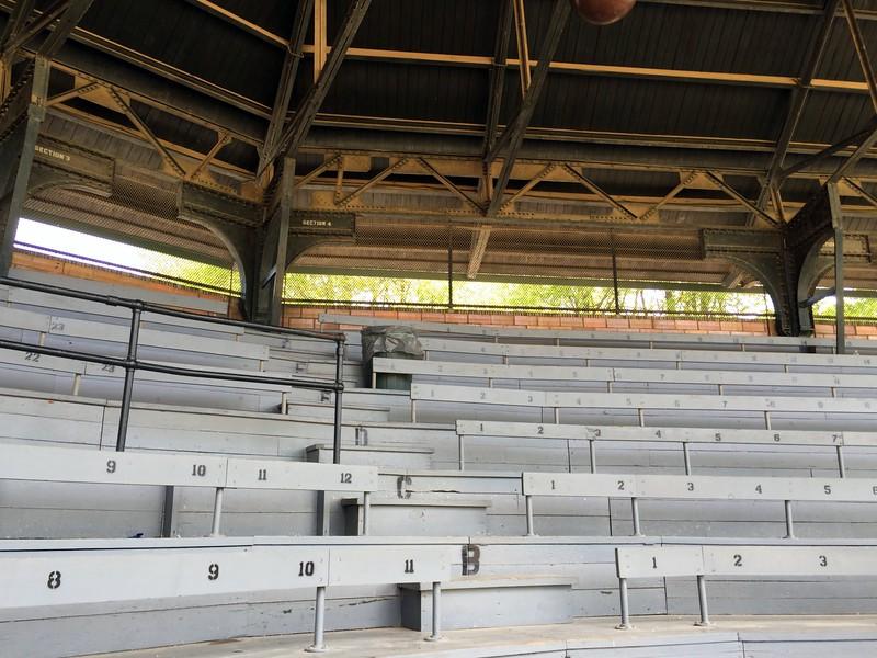 Bleachers at Doubleday Field