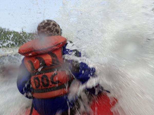 Rafting on the Nenana