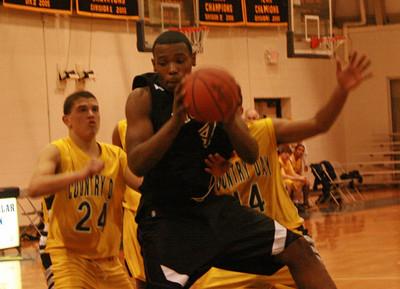 Pioneer at DCDS basketball 2008 - JV