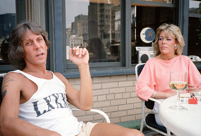 Visiting Marc Stevens, 1986