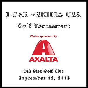 I-Car ~ Skills USA Golf Tournament September 12, 2018