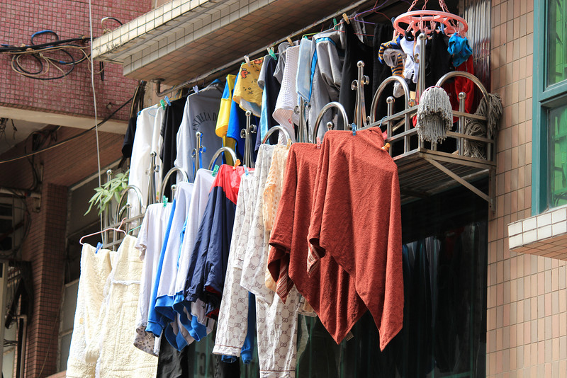 One Hell of a Packed Clothes Line