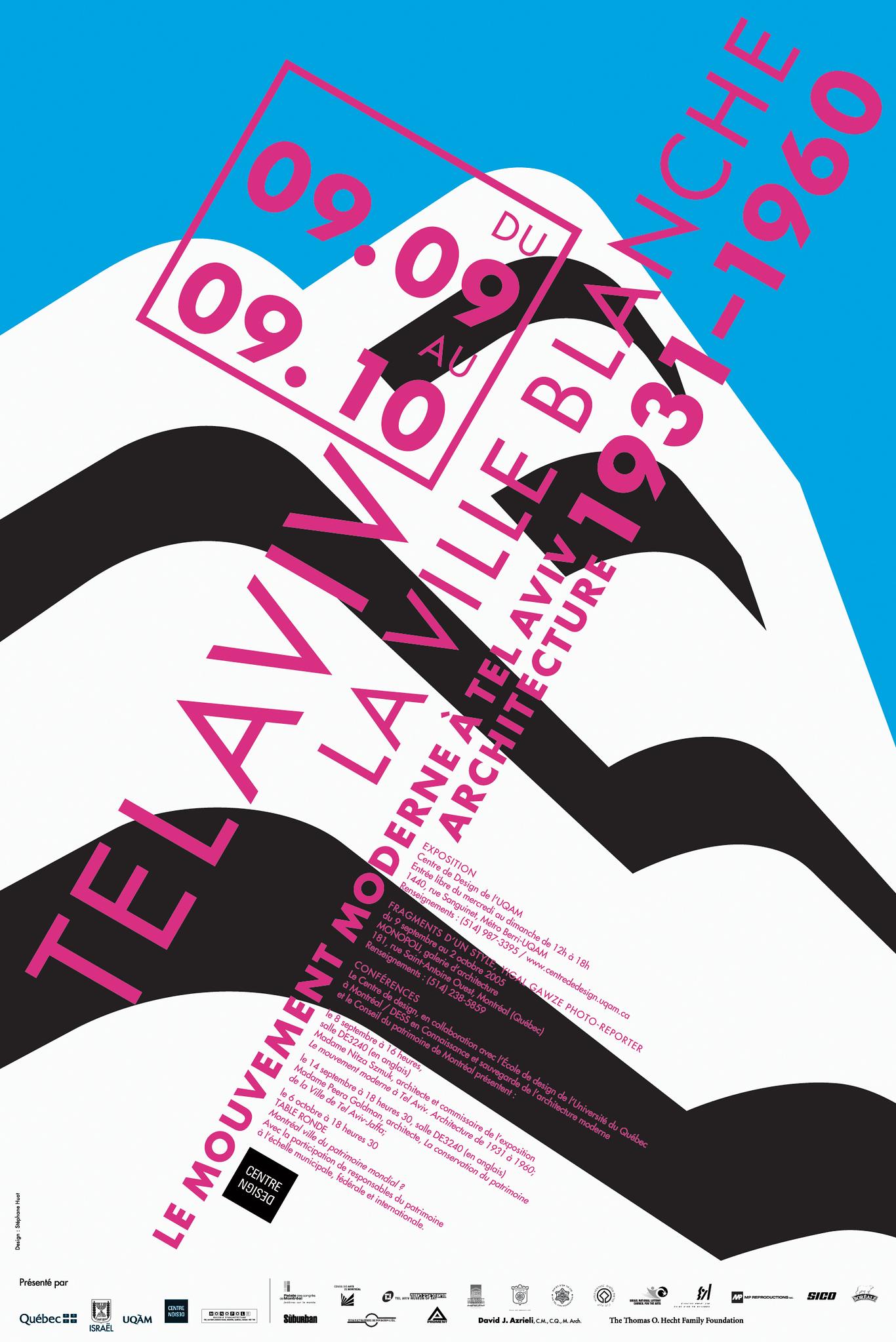 2005 - Exposition - Tel Avivi la ville blanche Le mouvement moderne à Tel Aviv Architecture de 1931-1960 ©Stéphane Huot