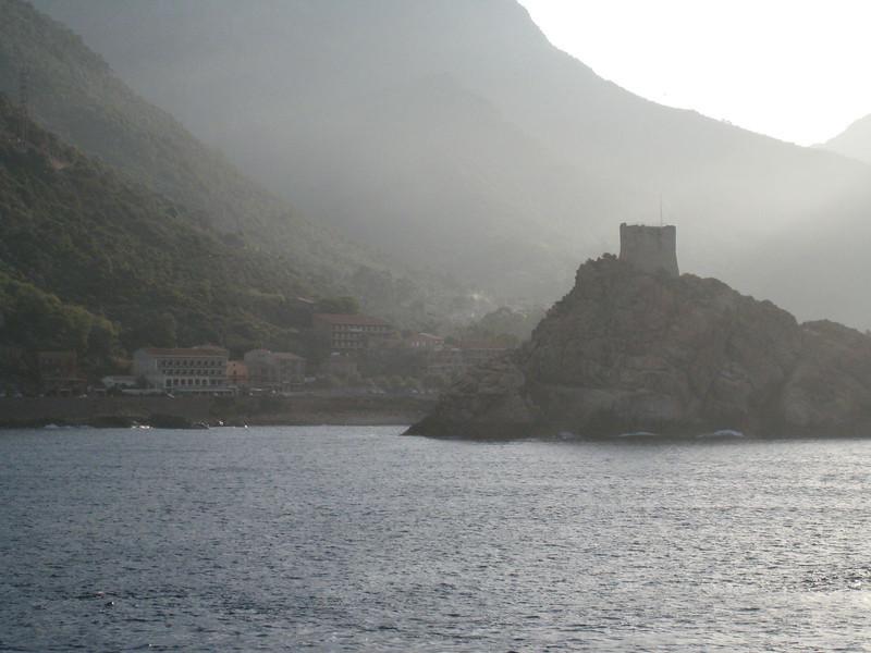 En route to Ajaccio, Corsica