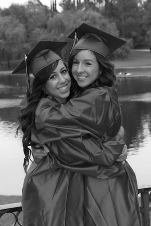 Sara and Crystal's Graduation Picturess