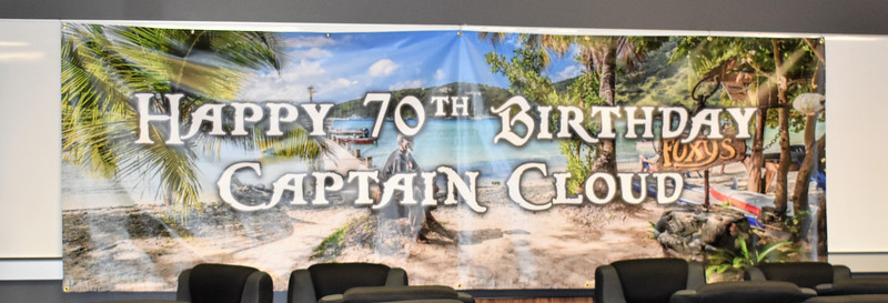 Steve Cloud's 70th Birthday Party