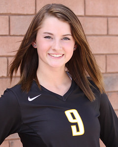 "2013 Kaitlyn ""KJ"" Lines 9 Gilbert Volleyball"
