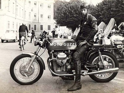 Vintage Motocycle Photo Archive