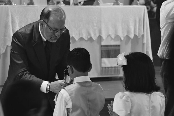 Mathew's First Communion 04/27/13