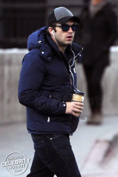 """Bucky� Sebastian Stan Coffe Break, Utah"