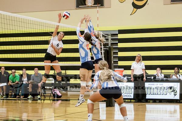 Boone @ Bishop Moore Girls Varsity Volleyball - 2012