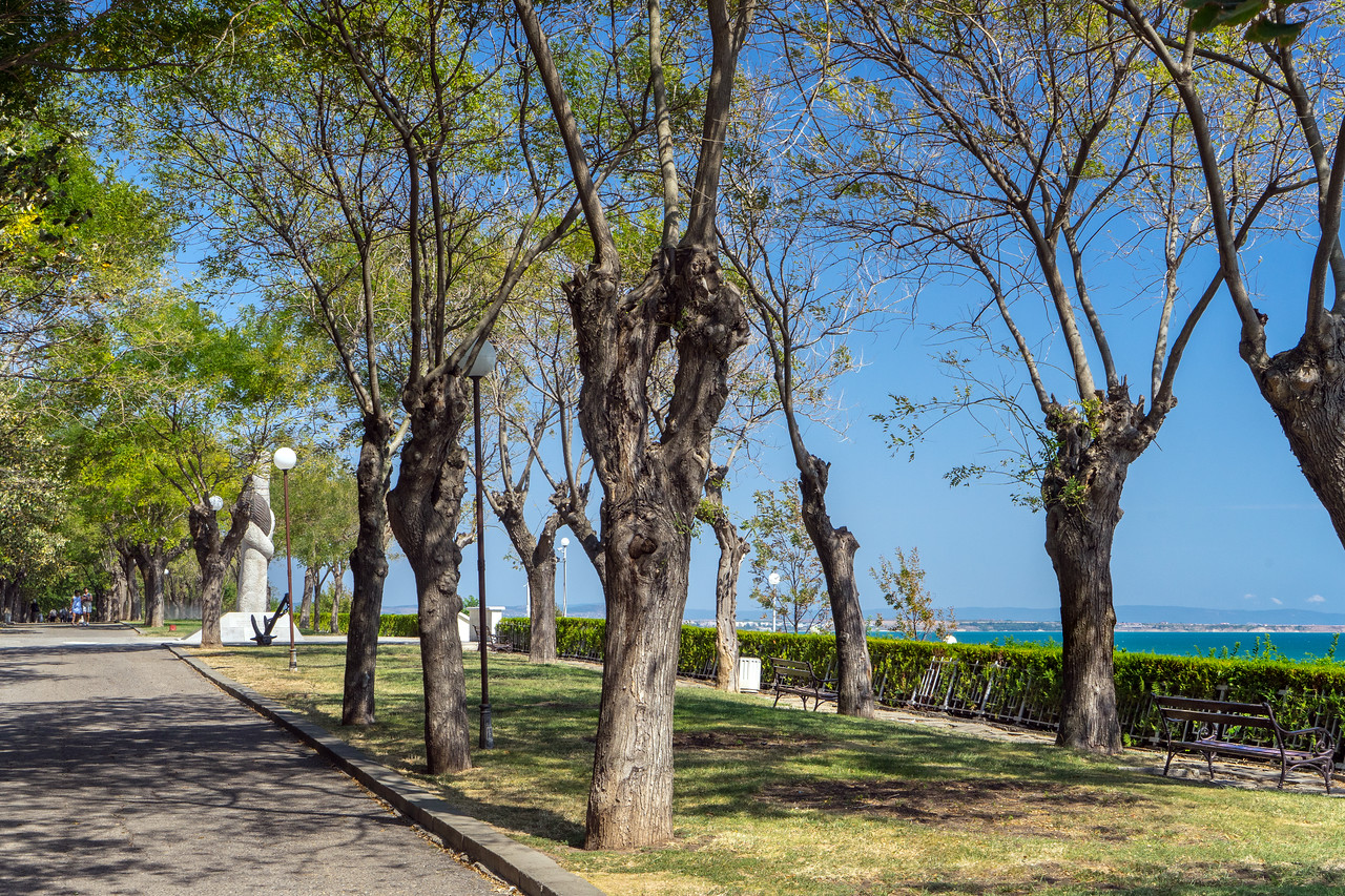 Bulgaria Burgas Sea Garden