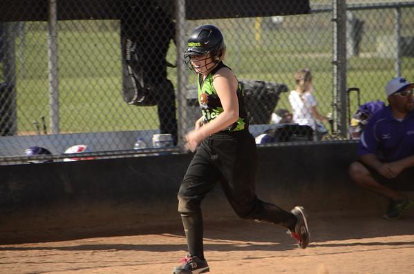 Anna's Softball Games, Sep 15, 2012