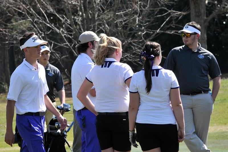 UL Golf match vs. Griffin  March 17, 2015