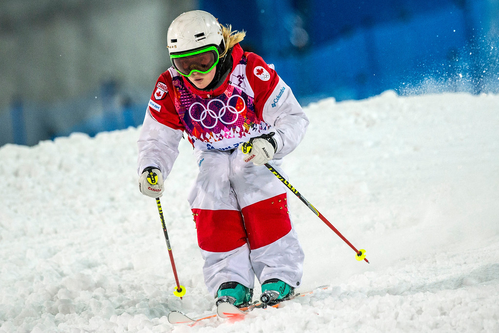 . KRASNAYA POLYANA, RUSSIA  - JANUARY 8:
