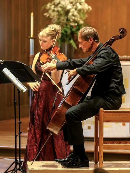 Gillian Ansell and Rolf Gjelsten