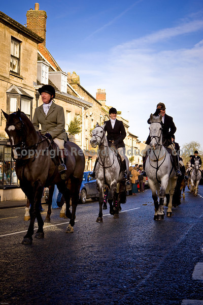 Chipping Norton - Boxing Day Heythrop Hunt meet