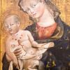 Madonna and Child, Giovanni da modena, circa 1420-25. Louvre Museum, Paris, France