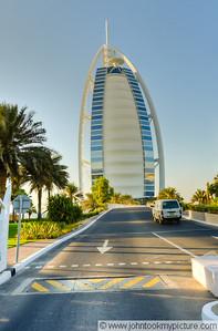 2011 10 31 Dubai Sunset and Night Burj Al Arab and Jumeriah Beach