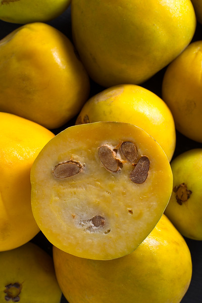 Closeup Of Rare Araza Fruit From The Amazon Area
