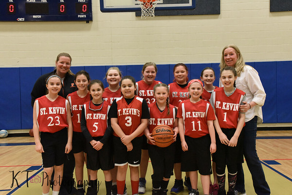 St Kevin's Girls Basketball Championship Game -  3/8/19