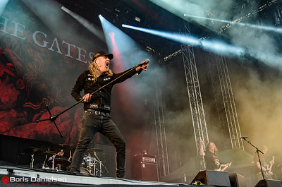 At The Gates @ Tons Of Rock Festival 2018.