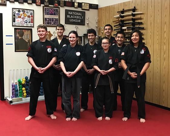 2016-12-12 Black Belt Test & Promotions