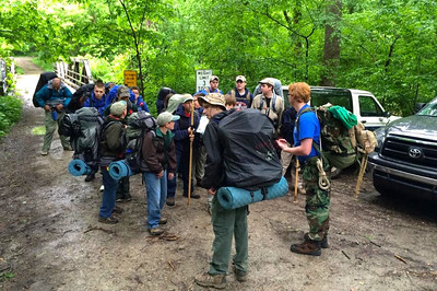 Sipsey Wilderness Backpacking
