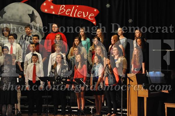 JH/HS Christmas Choral Program 12-14-14