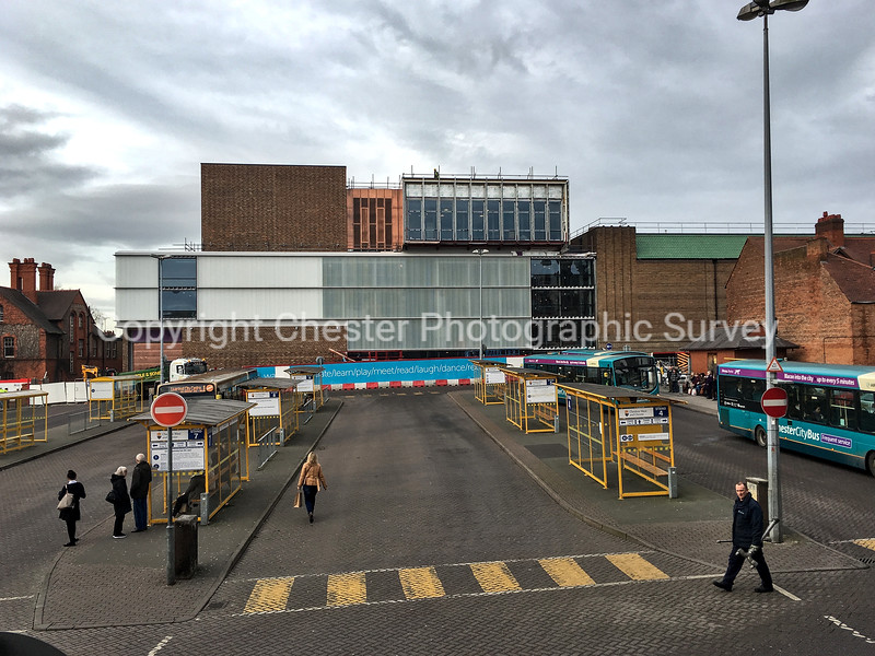 Storyhouse and Bus Station: Hunter Street