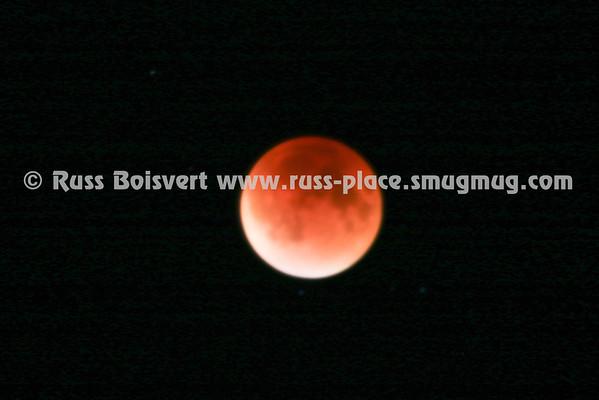 2015 Blood Super Moon Total Eclipse