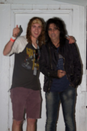 Alice Cooper Meet and Greet