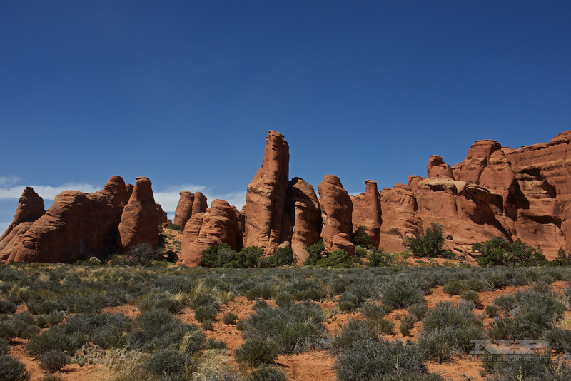 Arches National Park, UT,-