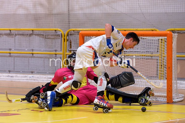 B: Correggio Hockey vs Amatori Modena