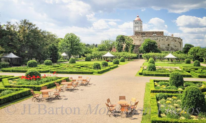 """Schloss Schallaburg, the 'tournament gardens"""""""