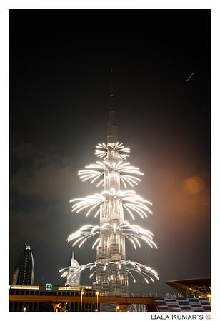 New Year's Eve - Burj Khalifa, Dubai 31 Dec'12