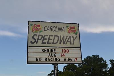 Carolina Speedway, Tuesday Night 8/14/12