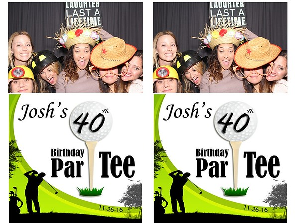 Josh's 40th Birthday Par-Tee 11-26-16