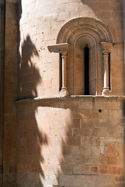Romanesque detail, Old Cathedral, town of Salamanca, autonomous community of Castilla and Leon, Spain