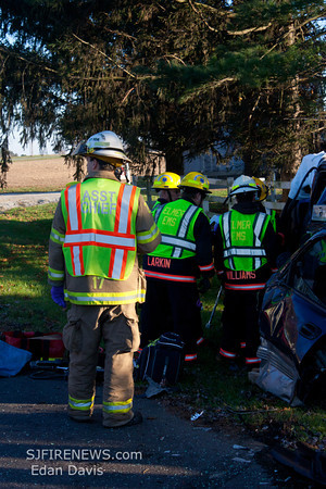 11-18-2011, MVC With Entrapment, Upper Pittsgrove Twp. Salem County, Glassboro Rd. and Swedesboro Rd.