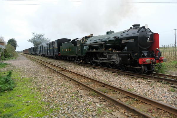 End of Season Parade on the Romney, Hythe and Dymchurch Railway