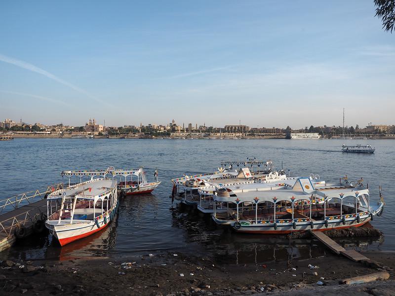 The Nile River in Luxor