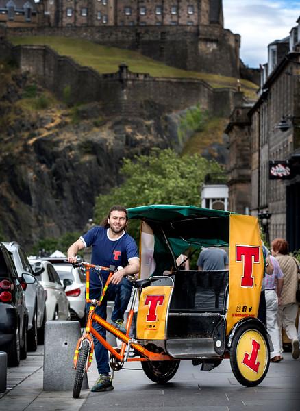 T Rickshaws Edinburgh .