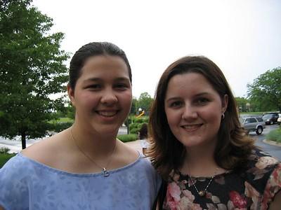 Molly's 8th Grade Graduation - May 30, 2004