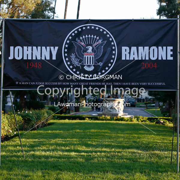 Johnny Ramone Tribute 10-01-11
