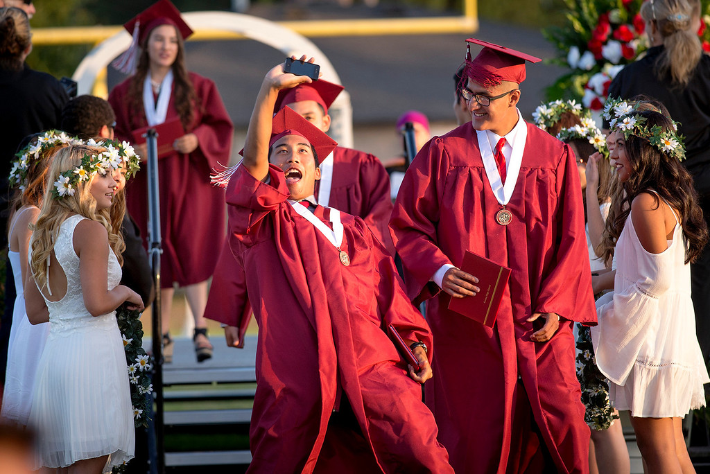 . Covina High School graduation at Covina District Field June 10, 2014.   (Staff photo by Leo Jarzomb/San Gabriel Valley Tribune)