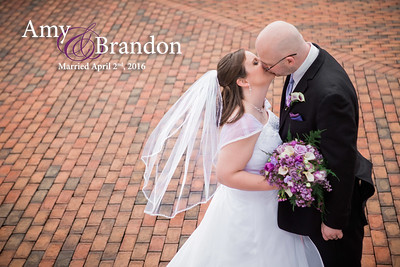 Amy and Brandon: Married April 2nd, 2016