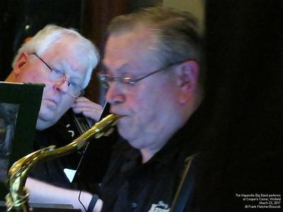 Naperville Big Band Coopers Corner Gig March 2017