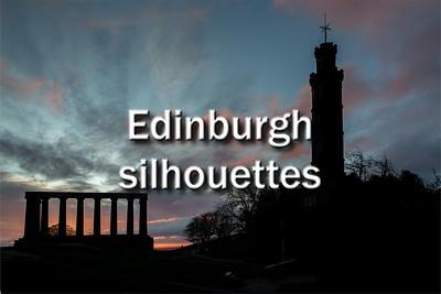 Edinburgh silhouettes