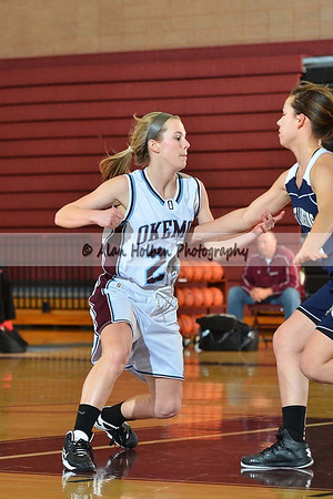 Girls JV Basketball - East Lansing at Okemos